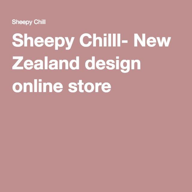 Sheepy Chilll- New Zealand design online store