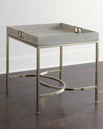 Attractive Olita Tray Side Table