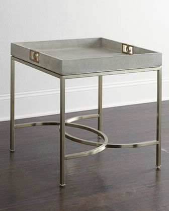 Olita Tray Side Table by Bernhardt at Neiman Marcus.