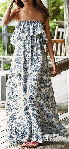 #summer #outfits / off the shoulder boho dress