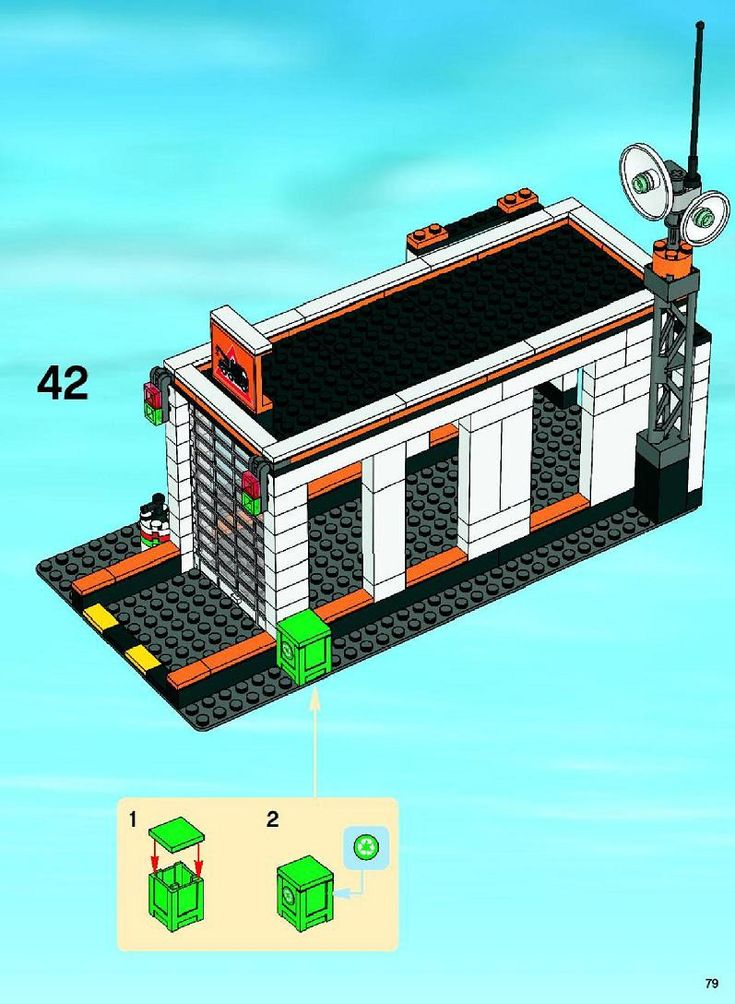 City - Garage [Lego 7642]