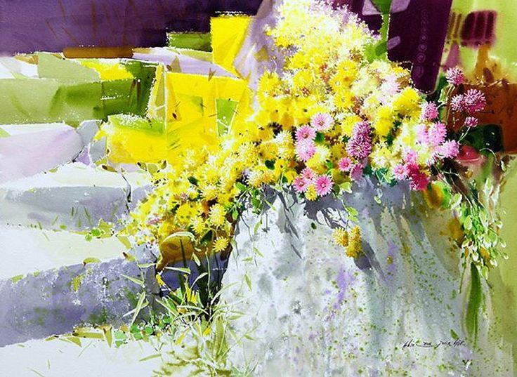 watercolor byShin Jong Sik