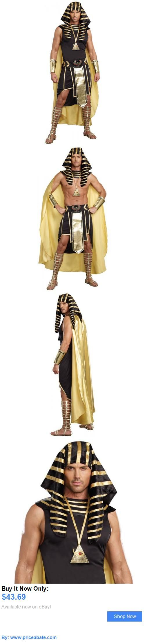 Men Costumes: Egyptian Costume Adult Pharaoh King Tut Halloween Fancy Dress BUY IT NOW ONLY: $43.69 #priceabateMenCostumes OR #priceabate