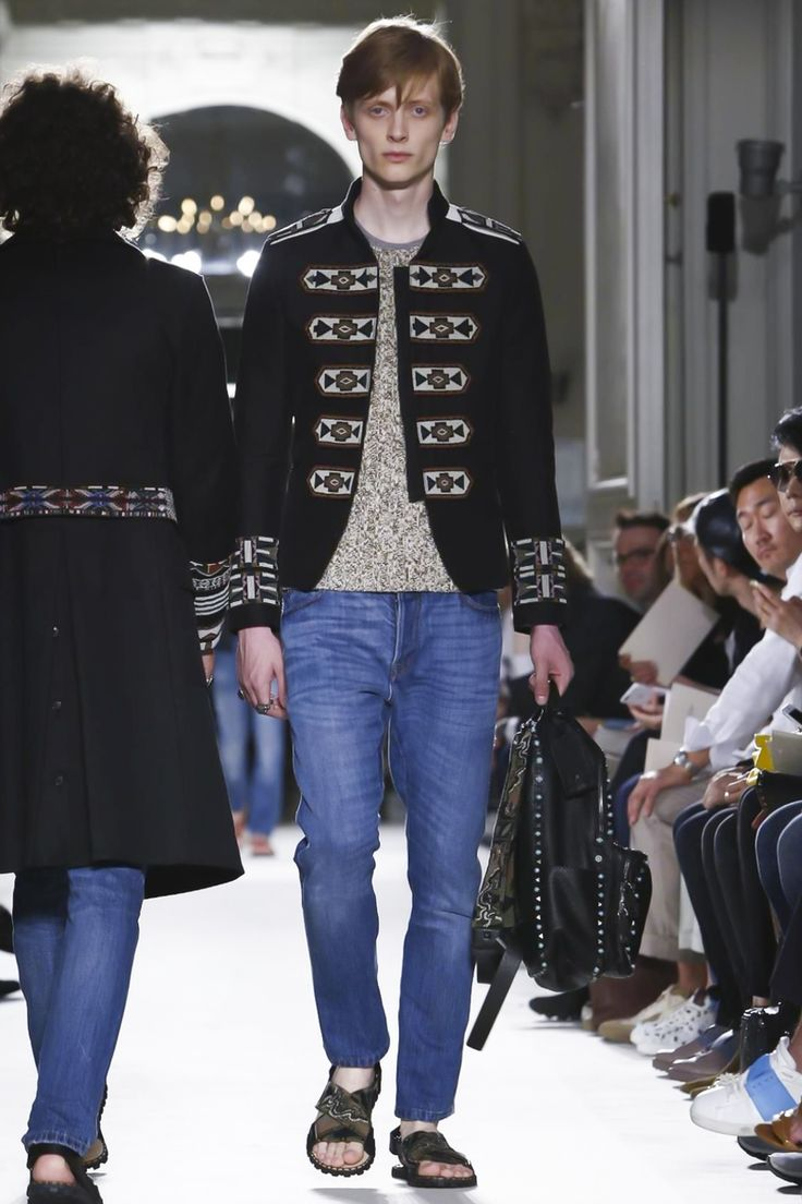 Valentino Menswear Spring Summer 2016 Paris - NOWFASHION