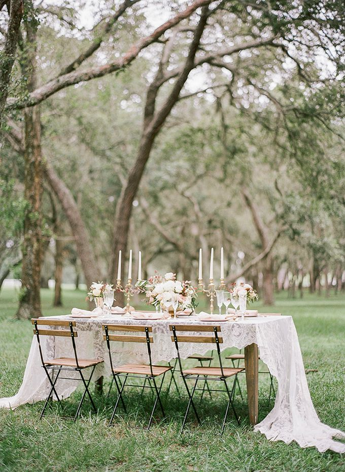 romantic vintage wedding inspiration
