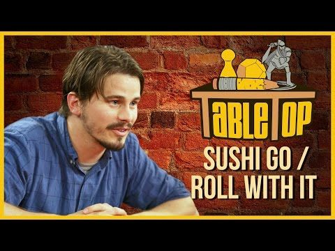 Sushi Go & Roll For It: TABLETOP with Jason Ritter, Jennifer Hale, & John Ross Bowie - YouTube