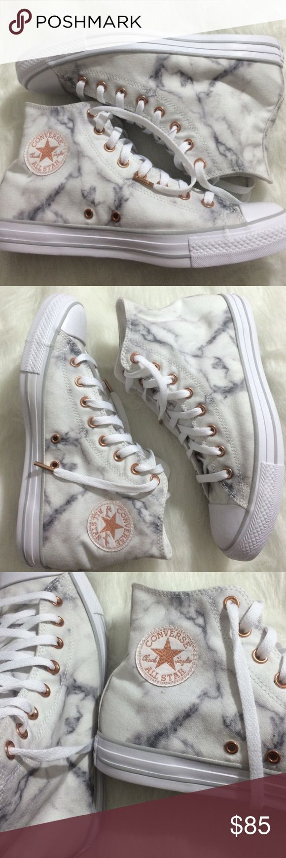 Converse marble chuck Taylor Nike id custom shoes Brand new without box. Women's size 11 Converse Shoes Sneakers