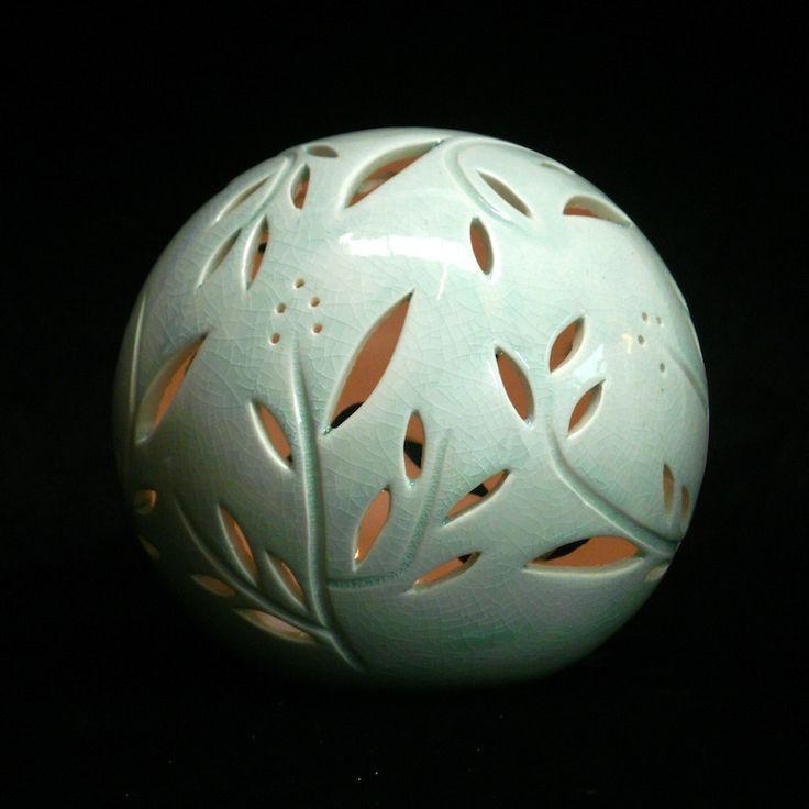Orb Vines- tealight lantern