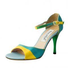 Celeste Verde Amarillo