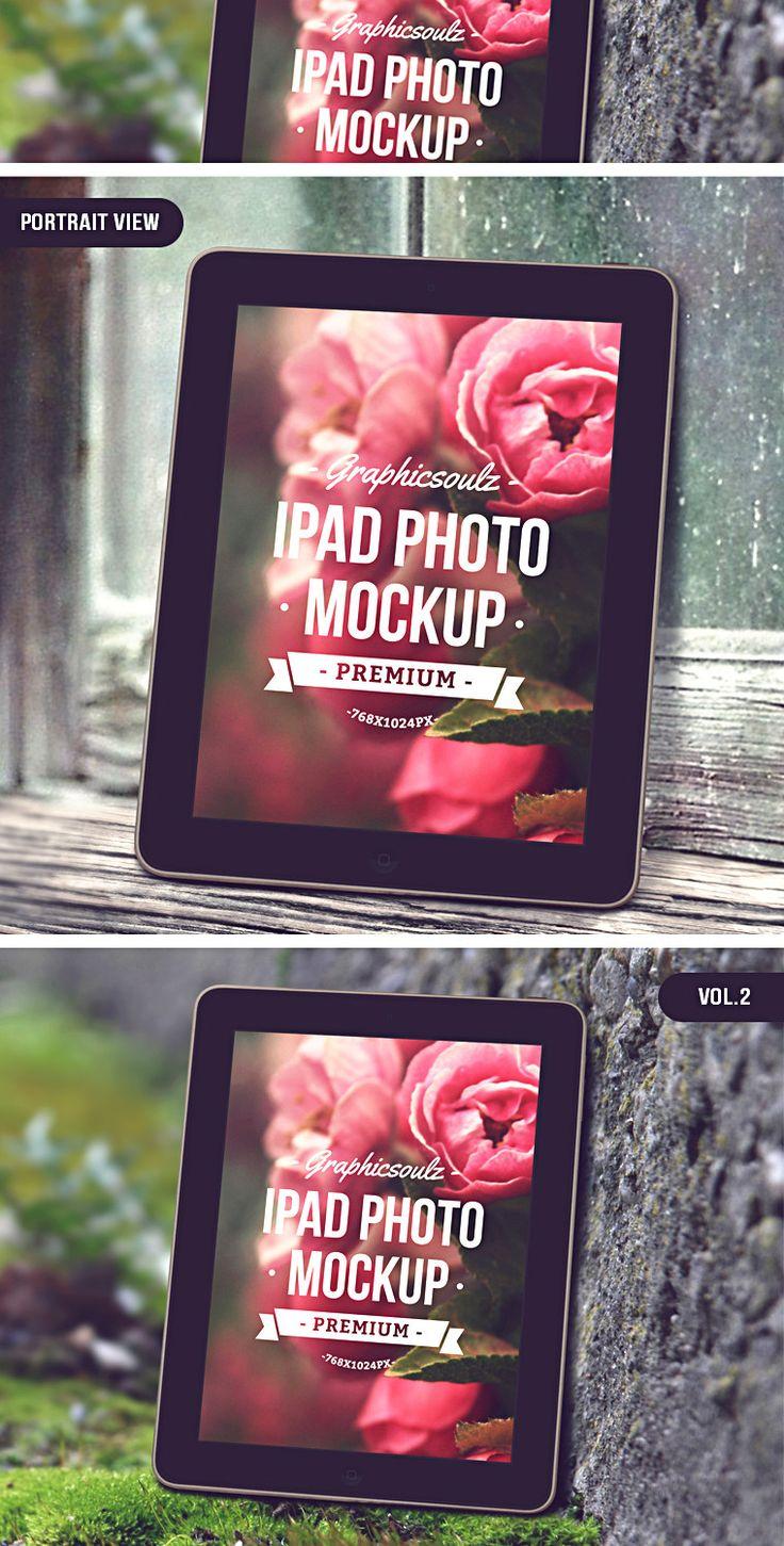 iPad Photo Mockup - By Graphicsoulz