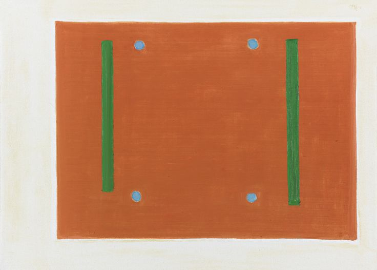 Raoul de Keyser 1930 - 2012 MEI signed and dated 2003 on the reverse, oil on canvas 19 5/8 by 27 1/2 in. Executed in 2003.