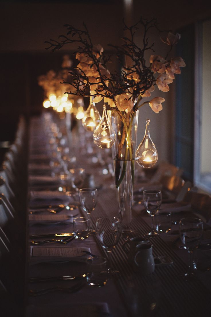 Flowers / Table Setting - Night