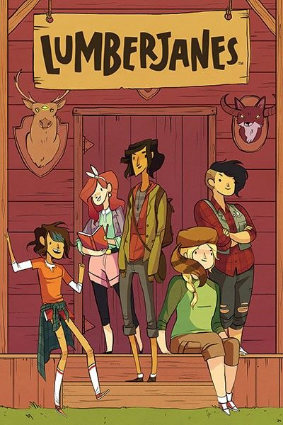 (Grades 5 and up) Lumberjanes combines summer camp, scouting, feminism and creepy monsters for a totally hilarious and friendship-filled adventure.