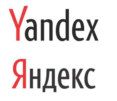 Logo de Yandex, moteur de recherche leader en Russie
