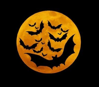 Halloween history and lore--and a full Halloween Moon!