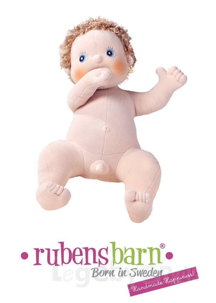 Rubens Baby dukken Erik finder du på Legebyen.dk. Han måler 45 cm og vejer 700 gram. Tøjet kan tages af dukken. #RubensBarn #RubensBaby #RubensErik #Legebyen