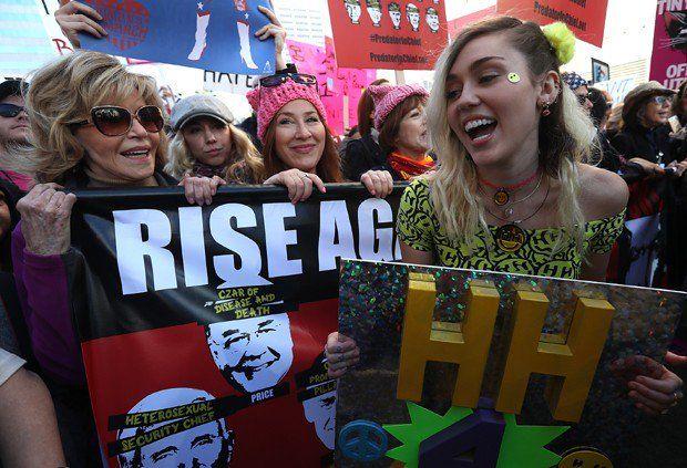 Jane Fonda & Miley Cyrus