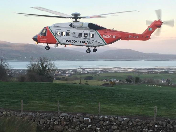 Irish Coast Guard Sikorsky S-92 Operated by CHC Helicopter Services