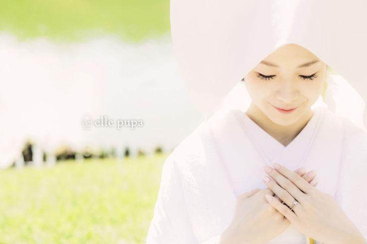 彦根城下で*前撮り|*elle pupa blog*