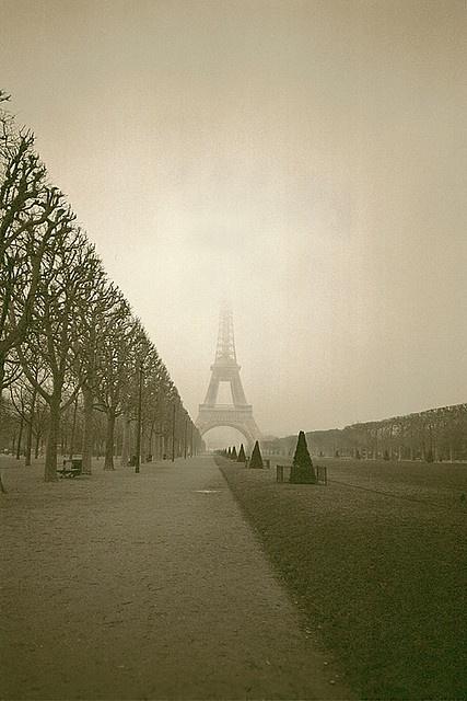 Paris, Champ de Mars et la Tour Eiffel