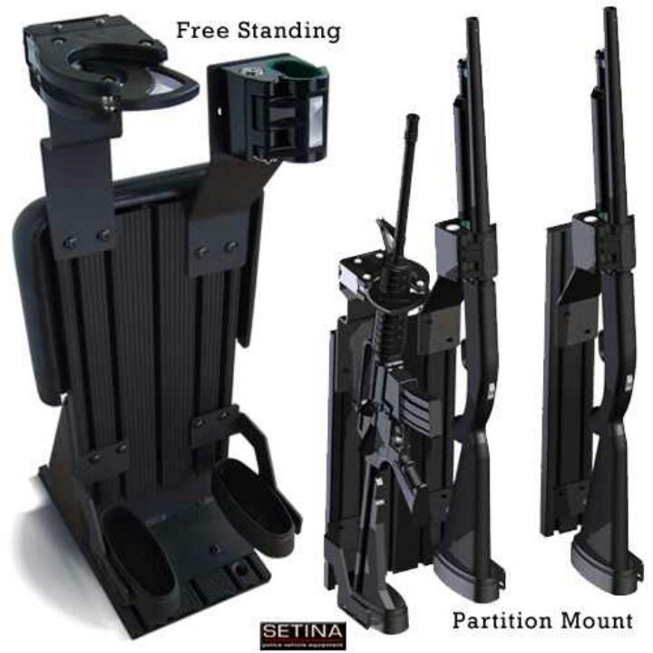 Police Vehicle Gun Rack Tactical Assault Gear