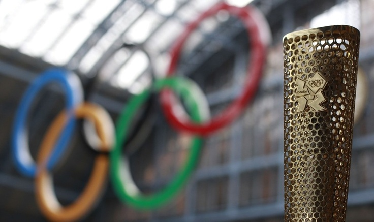 London 2012 Olympic Torch