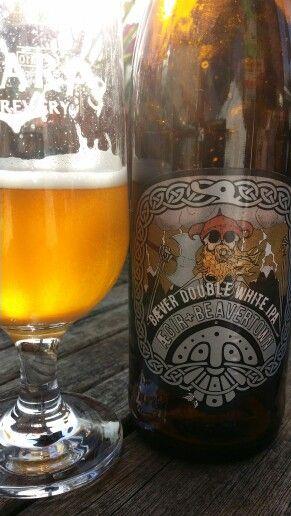 Aegir Bryggeri + Beavertown Brewery Double White IPA #craftbeer #Beer #realale #ale #beerporn #beerlove #Beergasm #NorwegianCraftBeer #norwegianbeer #CraftBeerNotCrapBeer #craftbeerporn #CraftNotCrap #PinterestBeer #BrewPorn #AegirBryggeri #Aegir #BeavertownBrewery #Beavertown #DoubleWhiteIPA