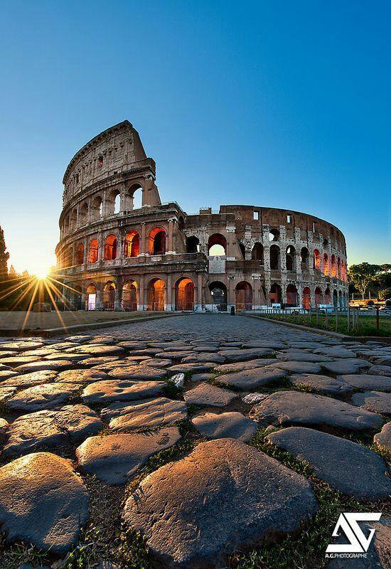 ITALIE Colisée (Rome)