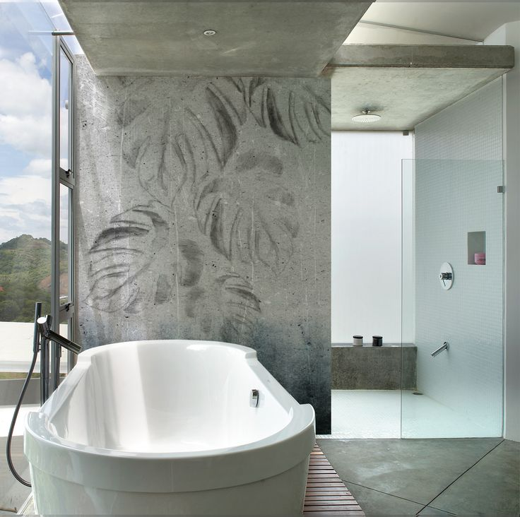 22 best images about wet system 2014 on pinterest for Modern wallpaper for bathrooms