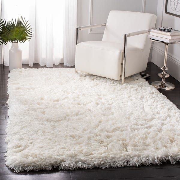 Safavieh Handmade Artic Shag Guenevere Solid Polyester Rug 10 X 14 Grey With Images Rugs Polyester Rugs Cool Rugs
