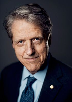 """Robert J. Shiller, The Sveriges Riksbank Prize in Economic Sciences in Memory of Alfred Nobel 2013: """"for their empirical analysis of asset prices"""", financial economics"""