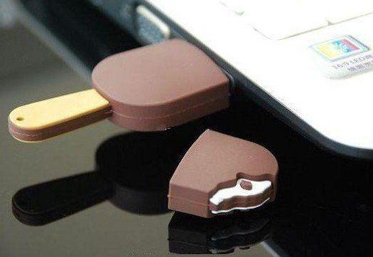 Chocolate Ice Cream Bar USB. $25