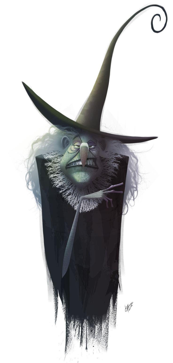 ArtStation - witches & wizards, Eran Alboher