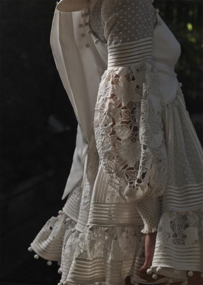58b727a4cf25 Zimmermann Corsage Embellished Mini dress from Resort 19-Ready-to-Wear