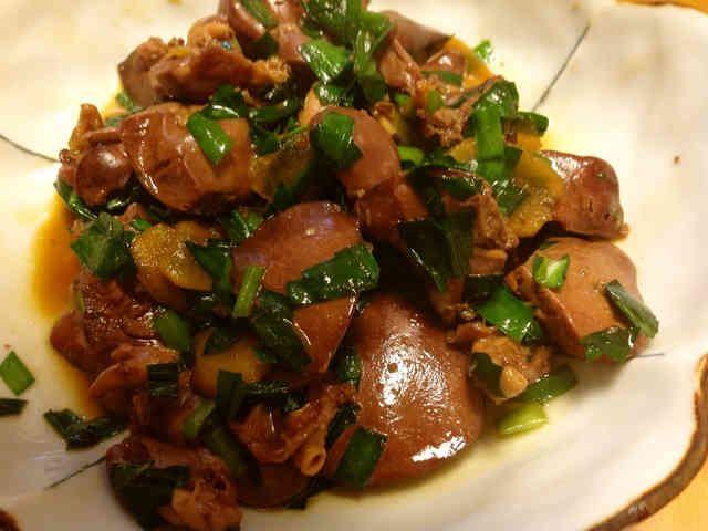 ニラ入り鶏レバーの甘辛煮の画像