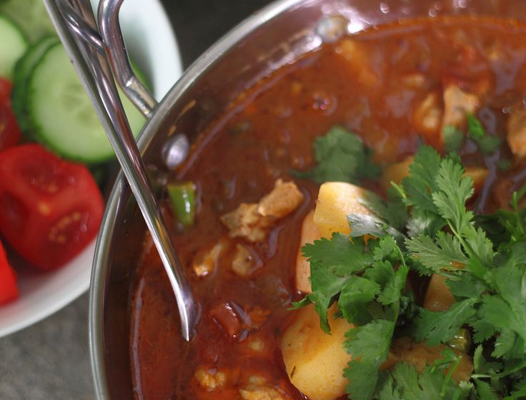 South East Asian Chicken & Potato Curry by Nadia Lim - Whānau Living