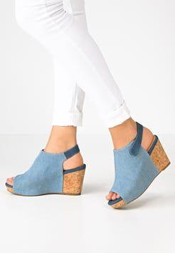 Shoe The Bear - CINDY - Sandali con cinturino - denim
