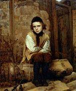 """New artwork for sale! - """" Kramskoi Insulted Jewish Boy by Ivan Nikolaevich Kramskoy """" - http://ift.tt/2oPV3uL"""