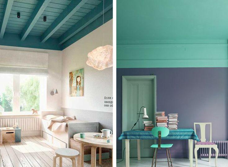 Oltre 25 fantastiche idee su Soffitto colorato su Pinterest
