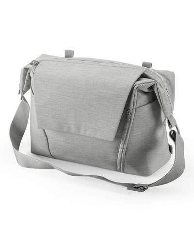 5acdb31cf2cd50 Stokke Changing Bag, Grey Melange   BeautyStarStyle   Changing bag ...