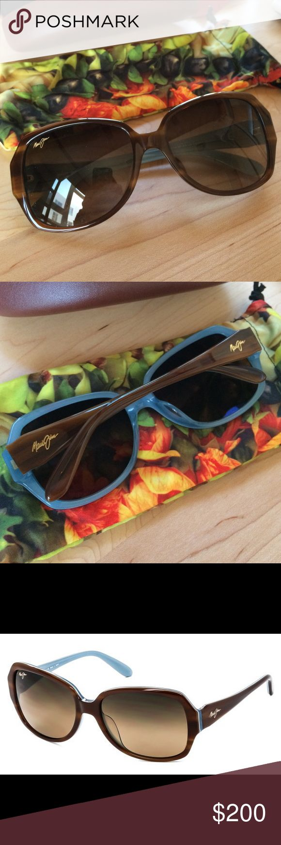 Polarized Maui Jim's Kalena Brand new polarized Maui Jims. Includes a hard case and a reversible cloth pouch Maui Jim Accessories Sunglasses