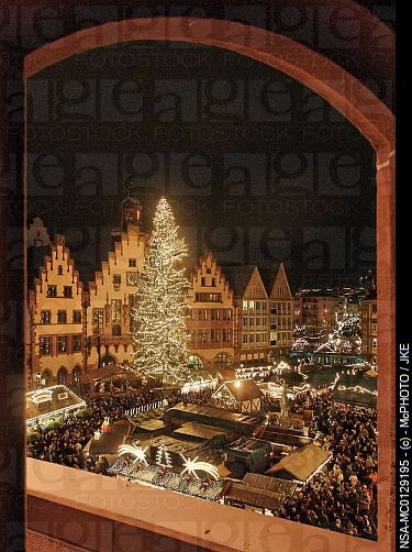 Christmas Market, Frankfurt, Germany. This was my FAVORITE place to be living there