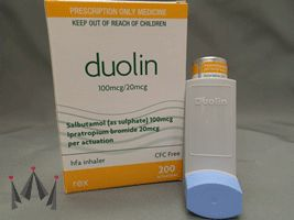 Generic Salbutamol (as sulphate) 100 mcg Ipratropium bromide 20 mcg CFC free come from Rex medical is made in New Zealand #combivent #duolin