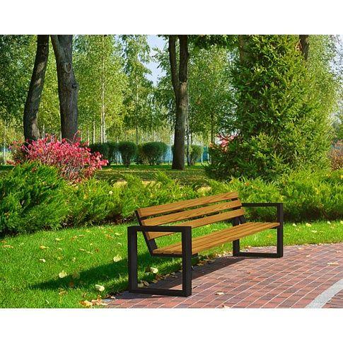 Ławka ogrodowa Norin Silver 180cm - 8 kolorów  z kategorii Ławki z oparciem