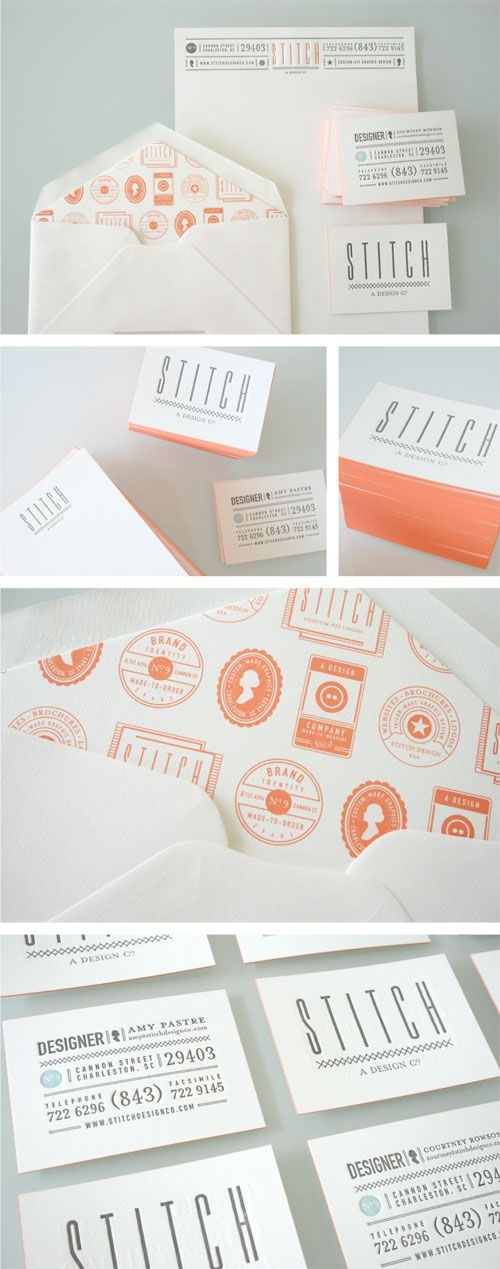 stitch design co. stationery, via graphic design layout, identity systems and great type lock-ups.