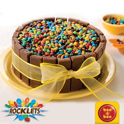 Torta de bon o bon y Rocklets. Hacé click en la imagen para ver la receta