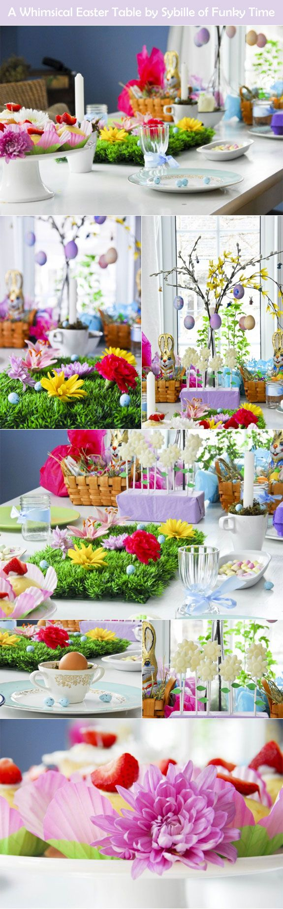Whimsical Details of a Lovely Easter Table