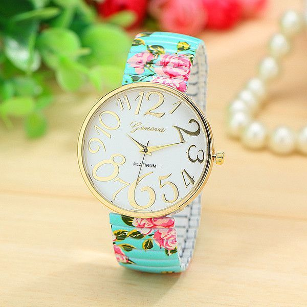 Floral Girl Watch