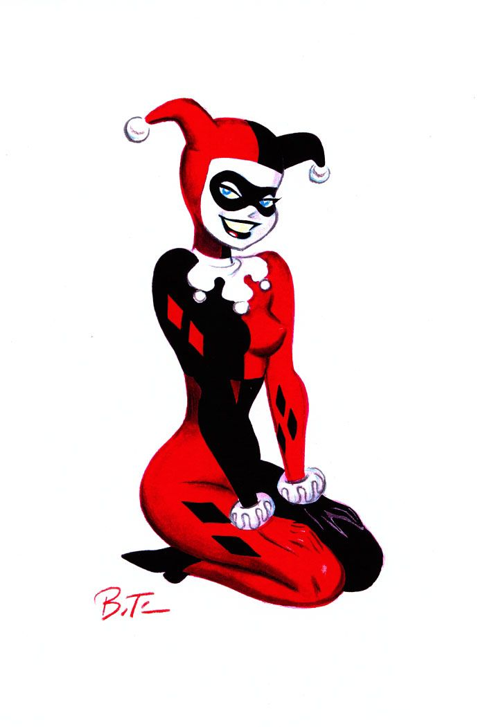 Joker and harley quinn bruce timm