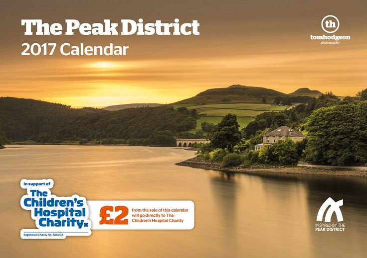 Beautiful calendar by @tomhodgson to support @SheffChildrens with stunning pics of Peak District. Order yours now https://www.tomhodgson.co.uk/the-peak-district-calendar/ …